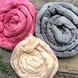 FEL102 - Hand Dyed Merino Roving per 50gram