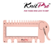 KnitPro Gauge, Needle & Hook Sizer