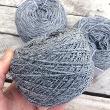 MUK109 - Mukuti Peru Grey per 100gram