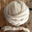 UND105 - Undyed Merino & Crossbred Mix Wool Roving per 1kg
